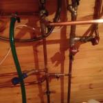 Индивидуальное отопление деревянной бани