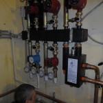 Установка отопления частного дома